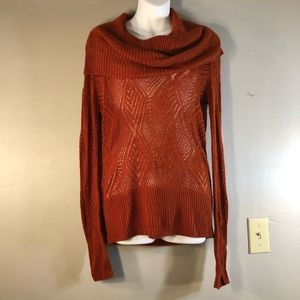 NWOT Lucky Brand Cowl Neck Sweater